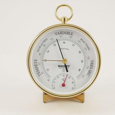 Baromètre thermomètre 100 mm