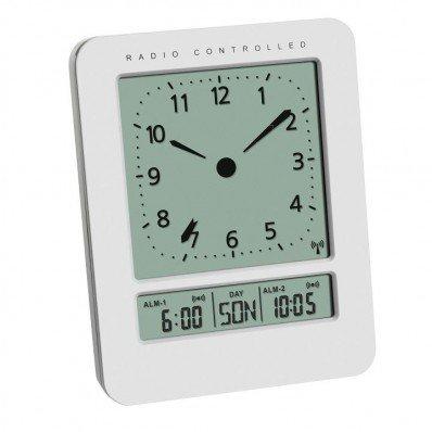 Réveil radio piloté avec température