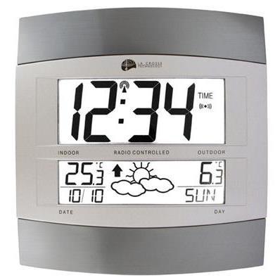 Horloge murale avec icône prévisions ws6158
