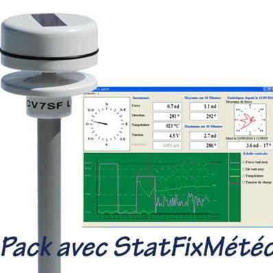 Girouette anémomètre à ultrasons CV7SF CV7SF