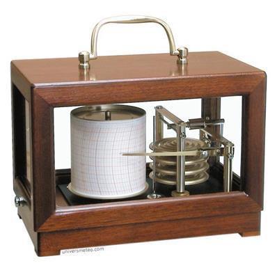 Baromètre enregistreur petit modèle