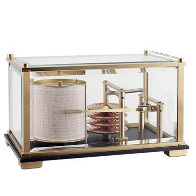 Baromètre enregistreur Petit Modèle en laiton