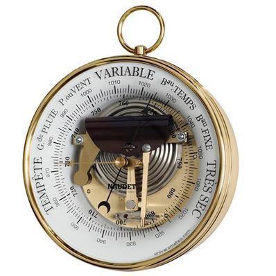 Baromètre à bélière 165 mm