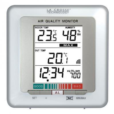 Station température et humidité avec controleur CO2 WS272WH