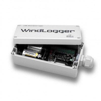 Enregistreur de vent avec piles