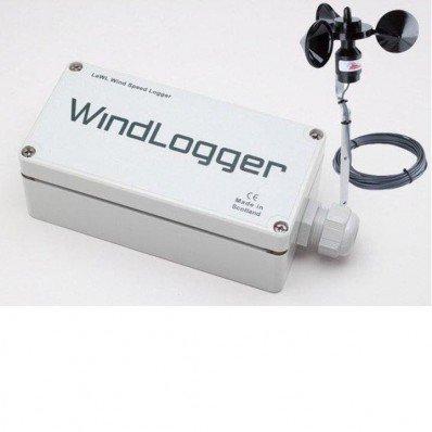 Enregistreur de vent avec carte mémoire