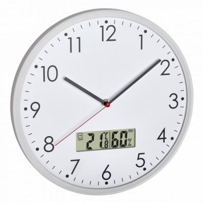 Horloge avec thermo-hygromètre