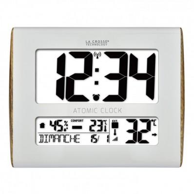 Horloge avec température