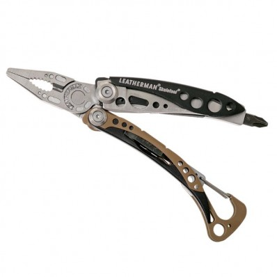 Leatherman Skeletool Coyote multi-outils