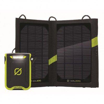 Kit batterie avec panneau solaire