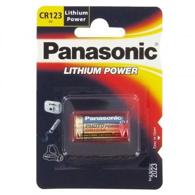 Pile CR123 3V lithium