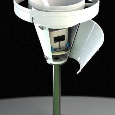 Pluviomètre enregistreur autonome