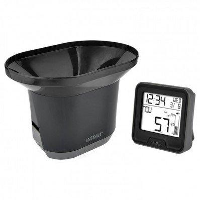 Pluviomètre électronique avec thermomètre intérieur
