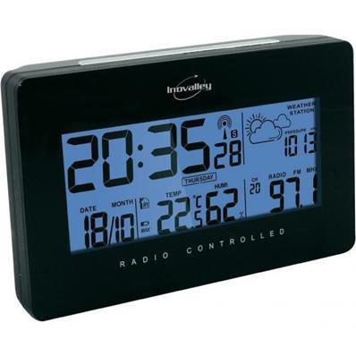 Radio-réveil avec température intérieure
