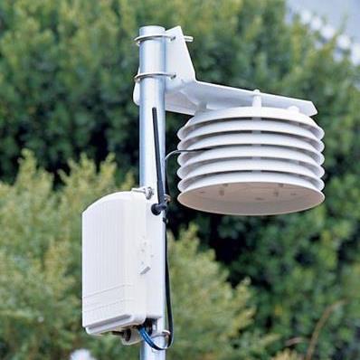 Station météo sans fil température et humidité de l'air