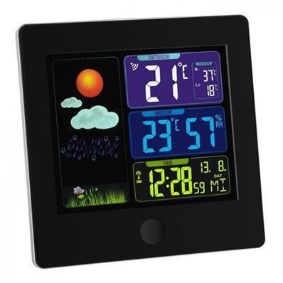 Station météo avec écran coloré