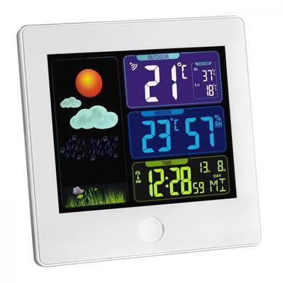 Station météo avec écran couleurs