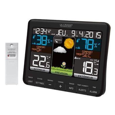 Station météo avec écran LCD coloré