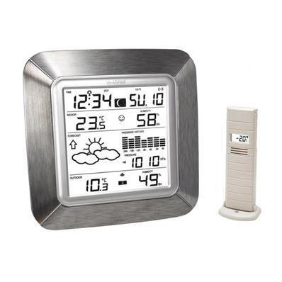 Station météo design aluminium ws9057