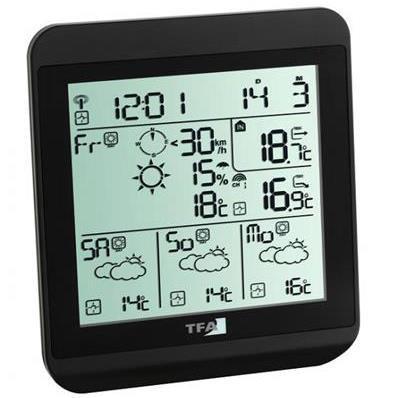 Prévisions météo via signal DCF77