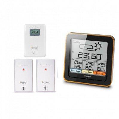 Station météo confort multi zone RAR502 avec écran tactile