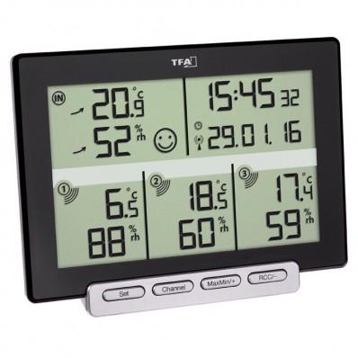 Thermomètre-hygromètre radio-piloté