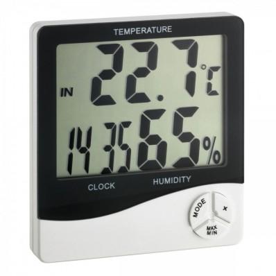 Thermo-hygromètre grand écran