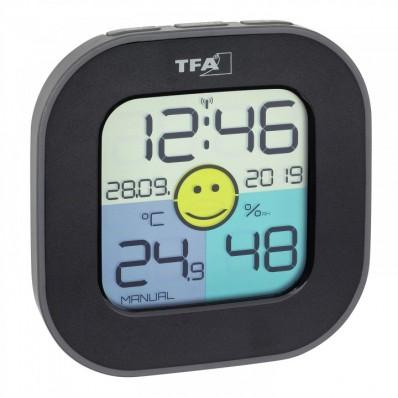 Thermo-hygromètre avec smiley