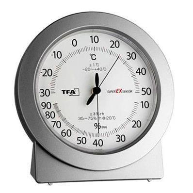 Thermomètre hygromètre à aiguille