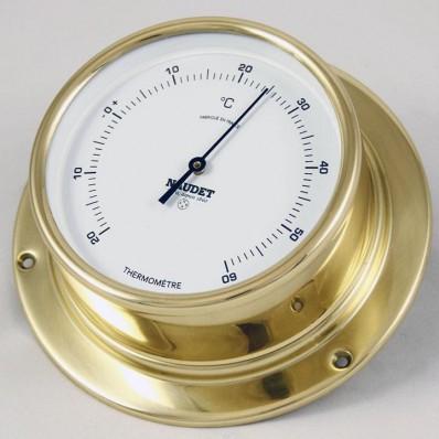 Thermomètre rond en laiton 135 mm