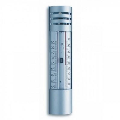 Thermomètre mini maxi aluminium