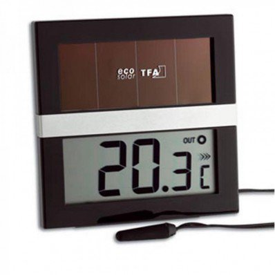 Thermomètre solaire