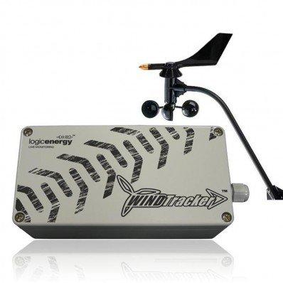Enregistreur de vent avec anémomètre girouette