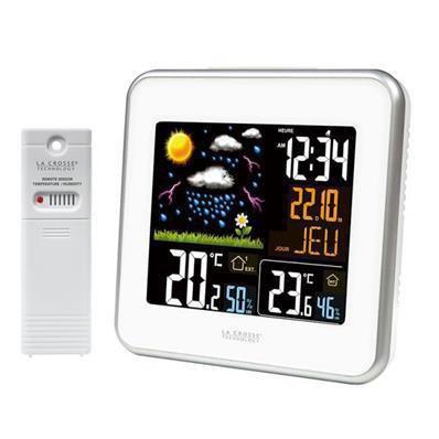 Station météo avec écran LCD en couleur