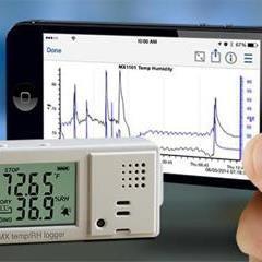 Enregistreur de température et humidité Bluetooth